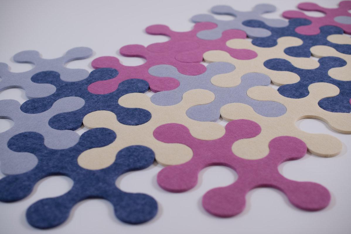 Round - Purple/blue