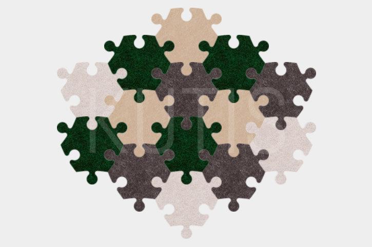 Angular - Green/grey/beige
