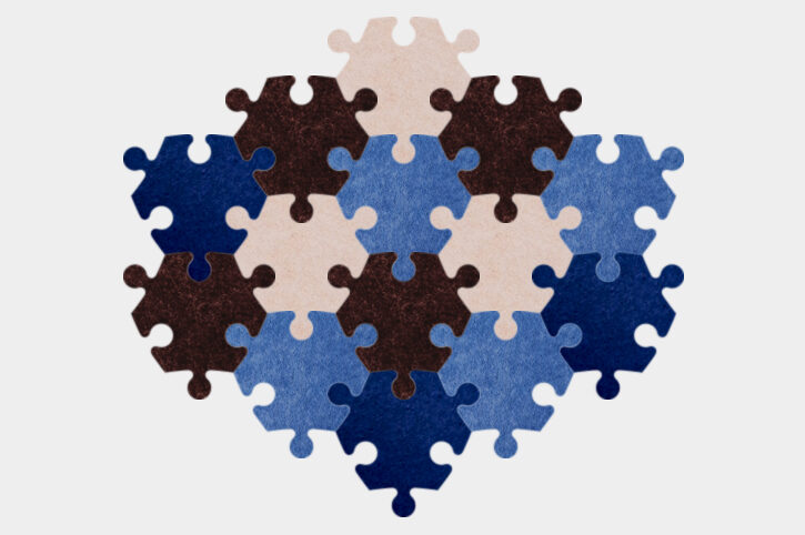 Angular - Blue/brown