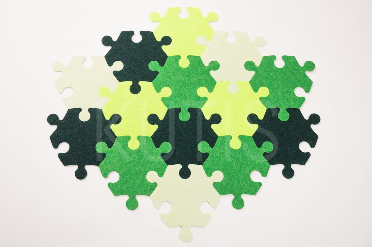 Stūrainais - Koši zaļš