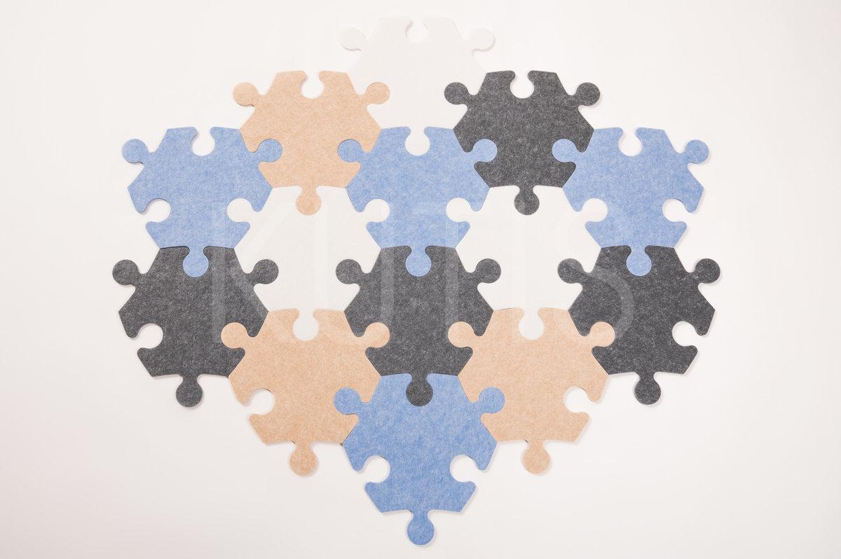 Angular - White/beige/blue