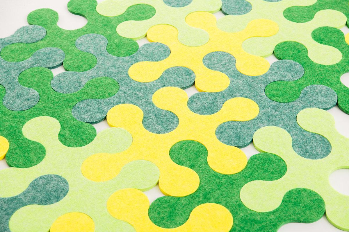 Round - Green/yellow