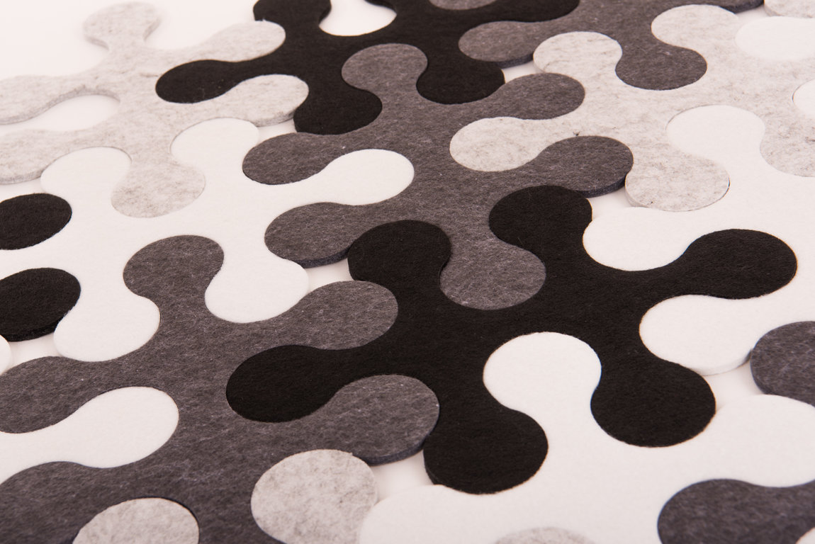 Round - Black/white